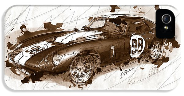 The 1965 Ford Cobra Mustang IPhone 5s Case by Gary Bodnar