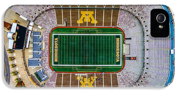 University Of Minnesota iPhone 5s Case - The Bank by Mark Goodman