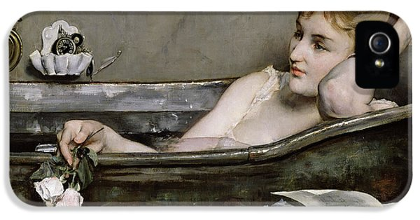 Impressionism iPhone 5s Case - The Bath by Alfred George Stevens