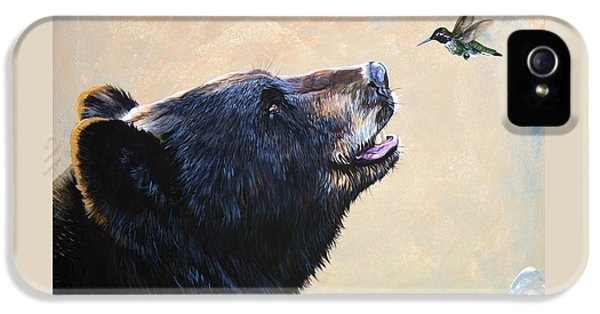 The Bear And The Hummingbird IPhone 5s Case