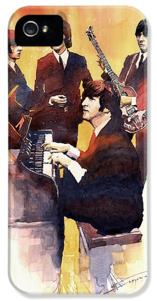 Musicians iPhone 5s Case - The Beatles 01 by Yuriy Shevchuk