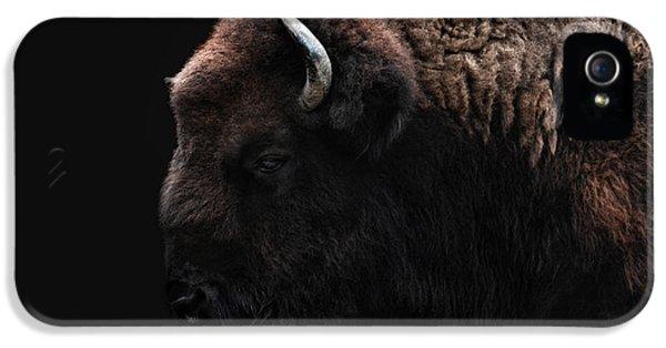 The Bison IPhone 5s Case by Joachim G Pinkawa