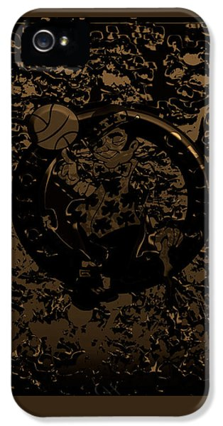 The Boston Celtics 1f IPhone 5s Case by Brian Reaves