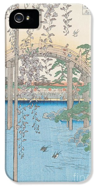 The Bridge With Wisteria IPhone 5s Case by Hiroshige