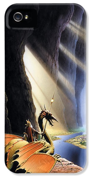 The Citadel IPhone 5s Case by The Dragon Chronicles - Steve Re