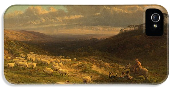 The Closing Day, Scene In Sussex IPhone 5s Case by George Vicat Cole