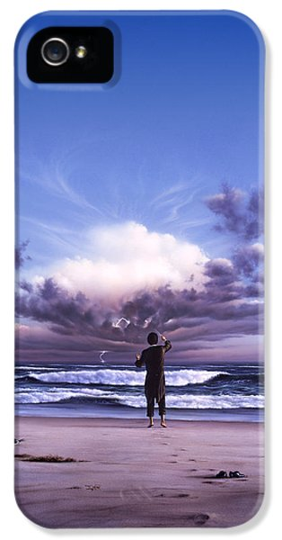 Seagull iPhone 5s Case - The Conductor by Jerry LoFaro