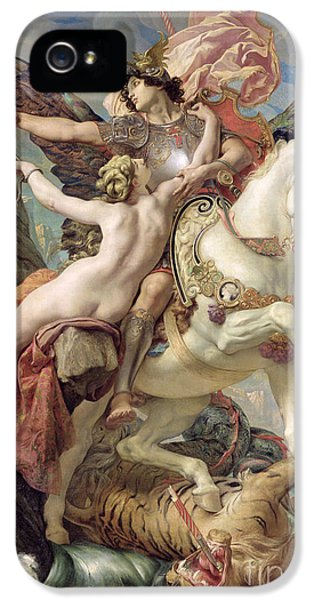 Pegasus iPhone 5s Case - The Deliverance by Joseph Paul Blanc