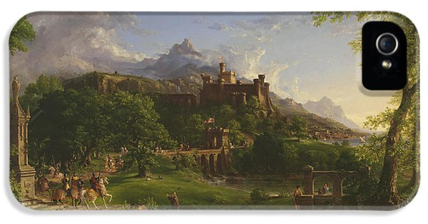 The Departure IPhone 5s Case by Thomas Cole