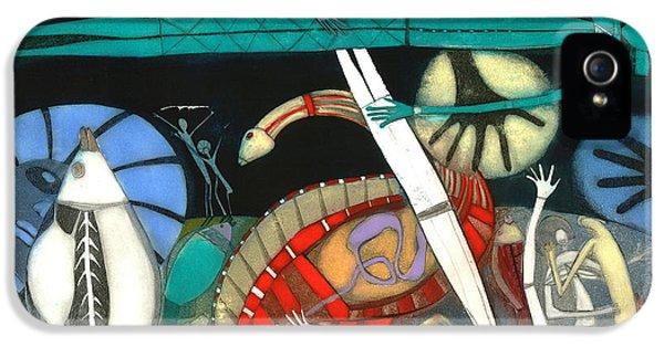 The Dream Of The Fish IPhone 5s Case by Annael Anelia Pavlova