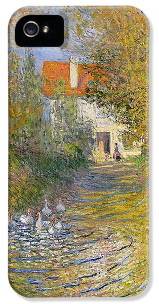 The Duck Pond IPhone 5s Case by Claude Monet
