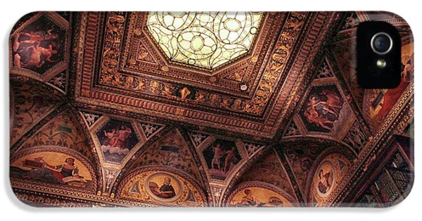 IPhone 5s Case featuring the photograph The East Room Ceiling by Jessica Jenney