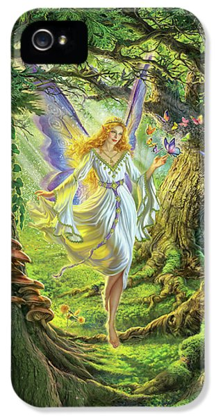 Fairy iPhone 5s Case - The Fairy Queen by Mark Fredrickson