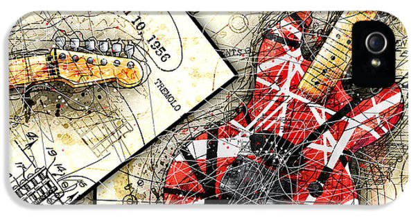 The Frankenstrat IPhone 5s Case by Gary Bodnar