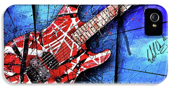 The Frankenstrat Vii Cropped IPhone 5s Case