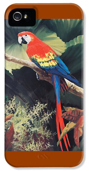 The Gossiper IPhone 5s Case by Laurie Hein