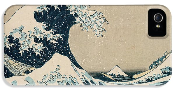 The Great Wave Of Kanagawa IPhone 5s Case by Hokusai