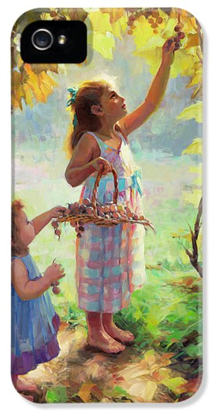 Nostalgia iPhone 5s Case - The Harvesters by Steve Henderson