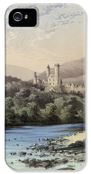 The Highland Home, Balmoral Castle IPhone 5s Case by English School