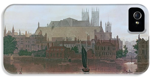 The Houses Of Parliament IPhone 5s Case by George Fennel Robson