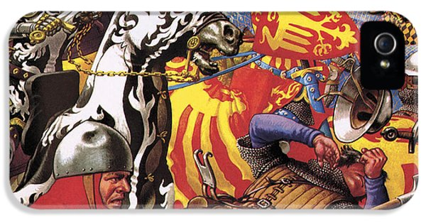 The Hundred Years War  The Struggle For A Crown IPhone 5s Case by Pat Nicolle