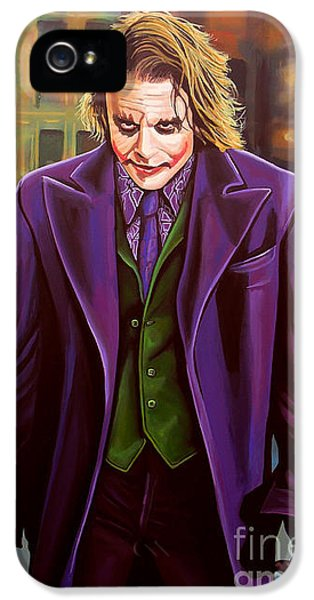 The Joker In Batman  IPhone 5s Case