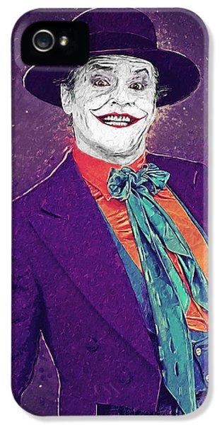 The Joker IPhone 5s Case by Taylan Apukovska