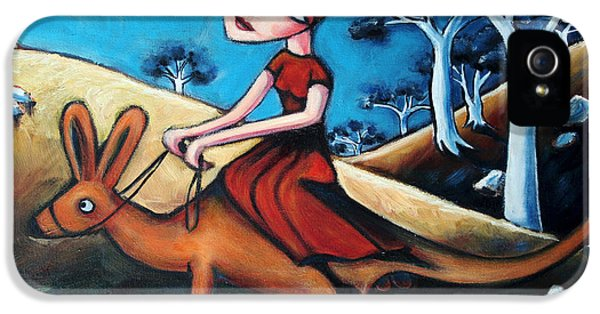 The Journey Woman IPhone 5s Case by Leanne Wilkes