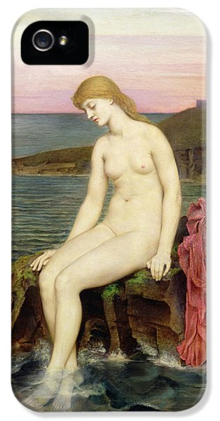 The Little Sea Maid  IPhone 5s Case by Evelyn De Morgan