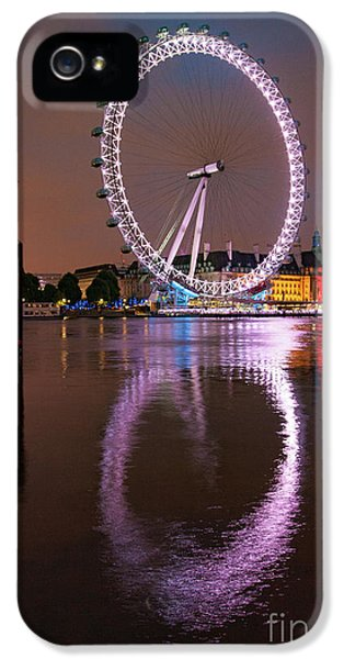 The London Eye IPhone 5s Case by Nichola Denny