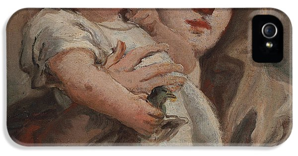 The Madonna And Child With A Goldfinch IPhone 5s Case