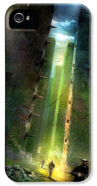 The Maze Runner IPhone 5s Case by Philip Straub