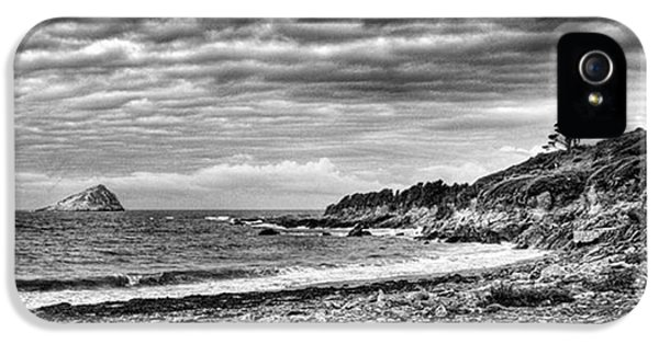 Sky iPhone 5s Case - The Mewstone, Wembury Bay, Devon #view by John Edwards