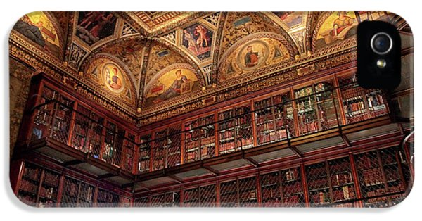 IPhone 5s Case featuring the photograph The Morgan Library by Jessica Jenney