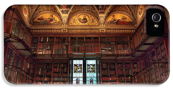 IPhone 5s Case featuring the photograph The Morgan Library Window by Jessica Jenney