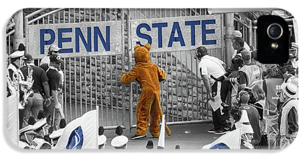 Penn State University iPhone 5s Case - The Name On The Gate by Tom Gari Gallery-Three-Photography