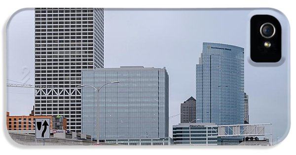 IPhone 5s Case featuring the photograph The New Milwaukee Skyline by Randy Scherkenbach