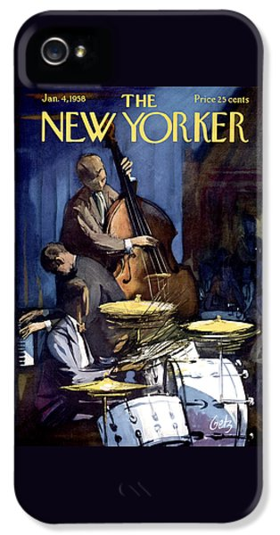 The New Yorker Cover - January 4th, 1958 IPhone 5s Case