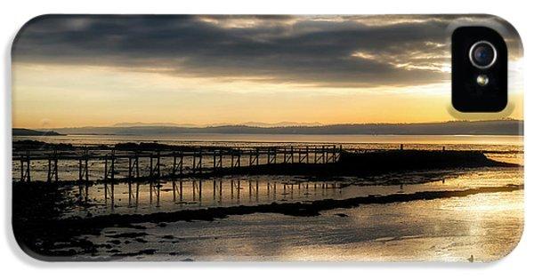 The Old Pier In Culross, Scotland IPhone 5s Case