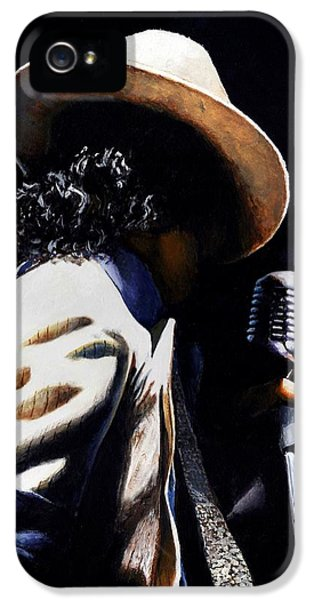 The Pop King IPhone 5s Case by Emerico Imre Toth