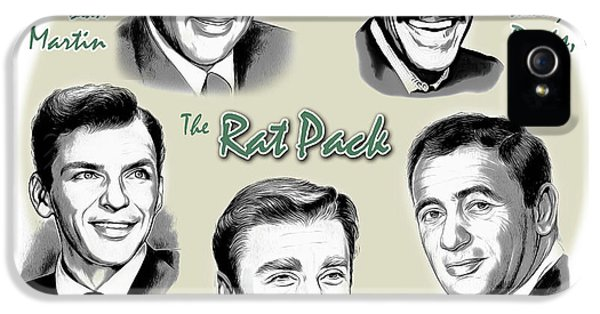 The Rat Pack IPhone 5s Case by Greg Joens