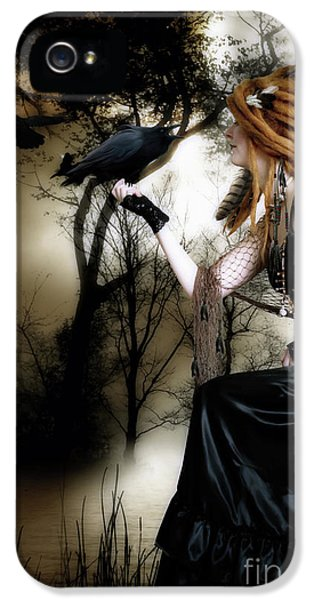 The Raven IPhone 5s Case by Shanina Conway