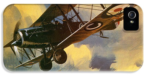 Airplane iPhone 5s Case - The Royal Flying Corps by Wilf Hardy