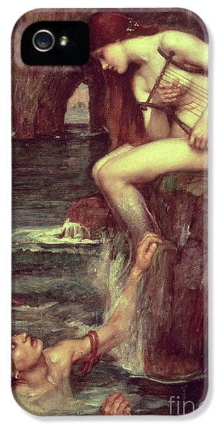 Extinct And Mythical iPhone 5s Case - The Siren by John William Waterhouse