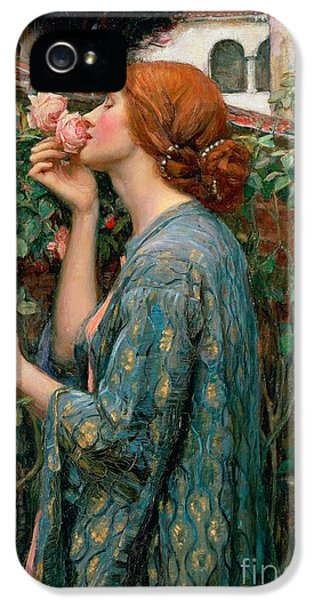 The Soul Of The Rose IPhone 5s Case by John William Waterhouse