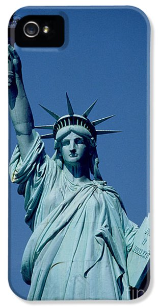 The Statue Of Liberty IPhone 5s Case by American School