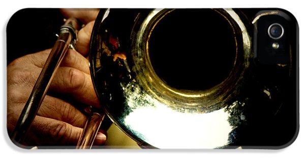 Trombone iPhone 5s Case - The Trombone   by Steven Digman