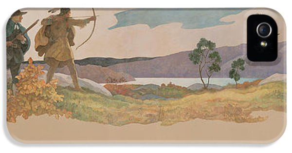 The Turkey Hunters IPhone 5s Case by Newell Convers Wyeth
