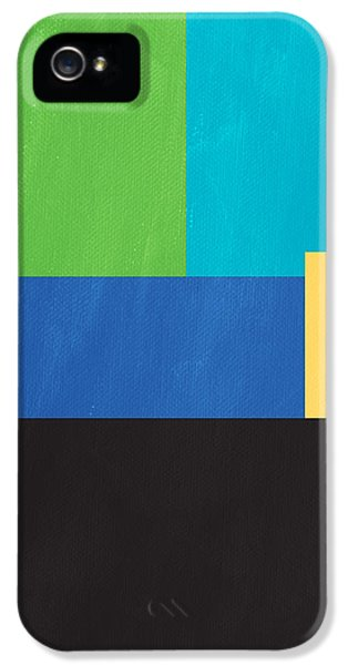 The View From Here- Modern Abstract IPhone 5s Case by Linda Woods
