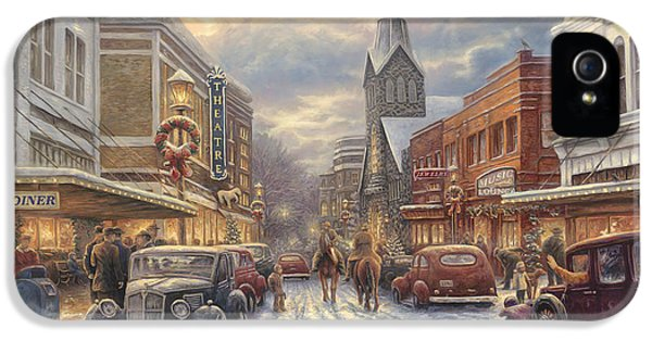 1950s iPhone 5s Case - The Warmth Of Small Town Living by Chuck Pinson